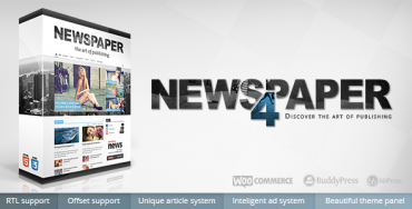 Newspaper v4.6.1 – Best WordPress Theme 2015