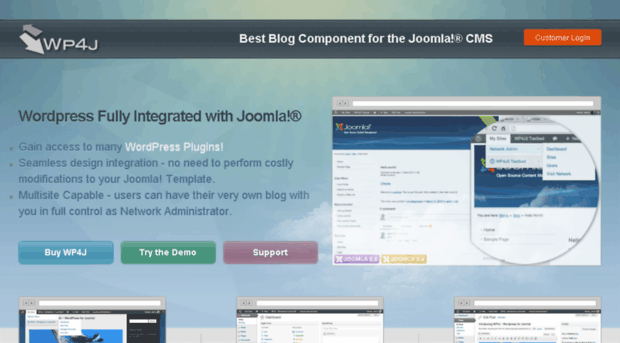 Download WP4J v.1.1.4 for joomla 2.5-3.x