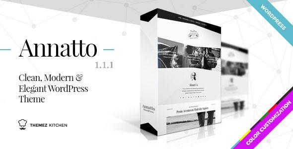 Annatto – Clean and Elegant WordPress Theme