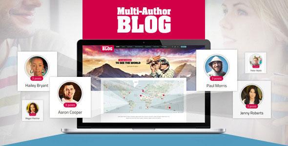 Multi-Author Blog WordPress Theme v1.3.2