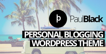 Download PaulBlack – Personal Blog WordPress Theme