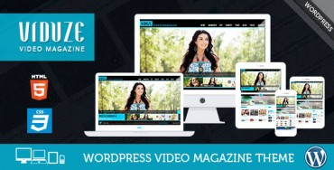 Viduze v1.5.0 – Video WordPress Theme