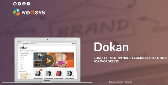 Dokan v2.4.8 – Multivendor e-Commerce WordPress