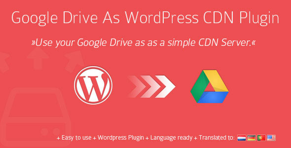 Google Drive As WordPress CDN Plugin v1.10.3