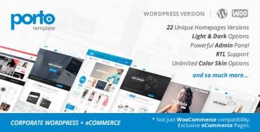 Porto v2.7.2 – Responsive eCommerce WordPress Theme