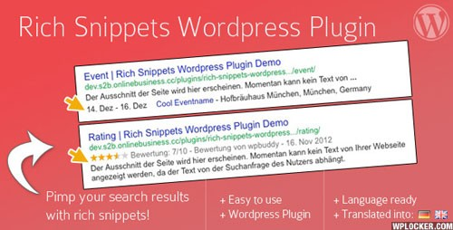 Rich Snippets WordPress Plugin v1.6.1