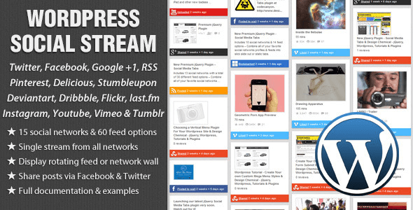 WordPress Social Stream v1.5.15
