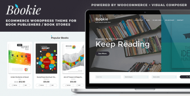 Bookie v1.1.2 – WordPress Theme for Books Store