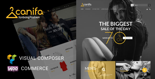 Canifa v1.3 – Fashion Responsive WooCommerce Theme