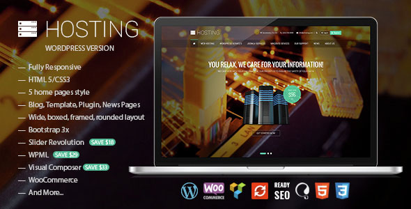 Hosting v1.2.1 – Multipurpose WooCommerce Theme