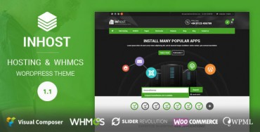 InHost – Hosting, WHMCS WordPress Theme