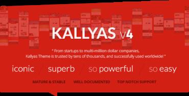 KALLYAS v4.0.11.1 – Responsive Multi-Purpose WordPress Theme