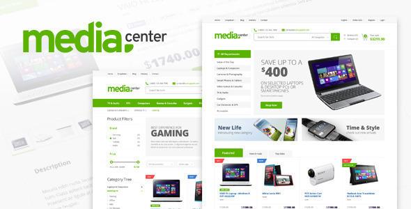 MediaCenter v2.0.10 – Electronics Store WooCommerce Theme