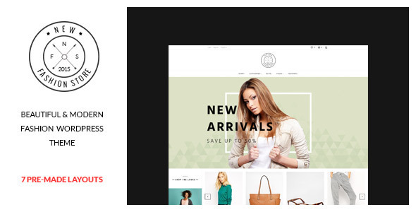 NewFashion – Modern WooCommerce WordPress Theme