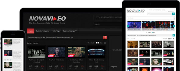 Novavideo Pro v2.0.6 – WordPress Video Theme