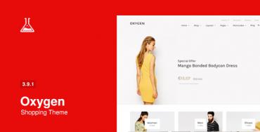 Oxygen v3.9 – WooCommerce WordPress Theme
