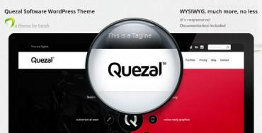 Quezal – Software Responsive WordPress Theme