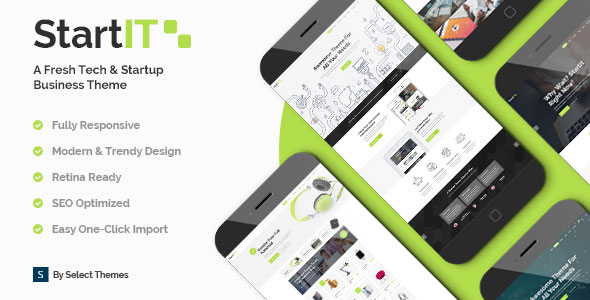 Startit v1.1 – A Fresh Startup Business Theme