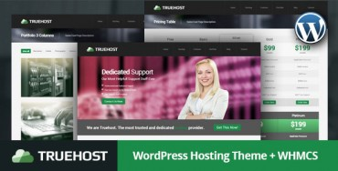 Truehost – WordPress Hosting Theme + WHMCS