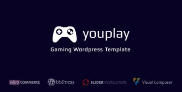 Youplay – Gaming WordPress Template